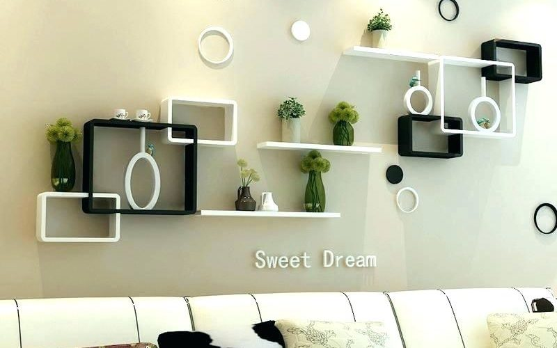 wall-mounted-floating-wooden-shelves